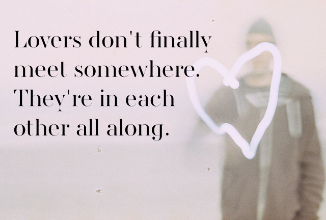 Famous Quotes Of Love Adorable Rumi Quotes 25 Sayings That Could Change Your Life