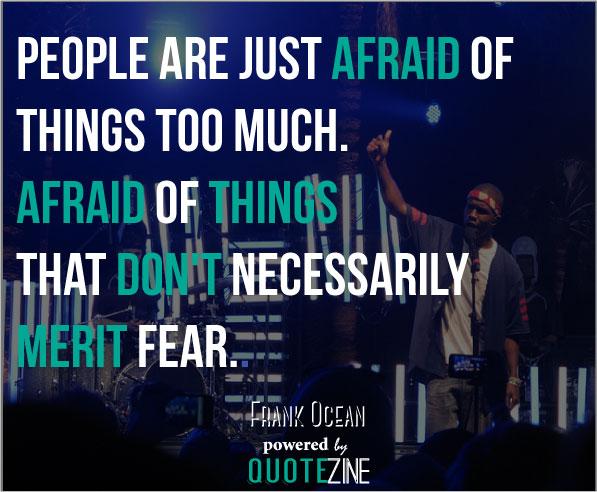 Frank Ocean Quotes: 20...