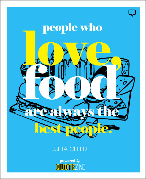 Quotes About Food With Friends : Quotes about food and friends quotesgram