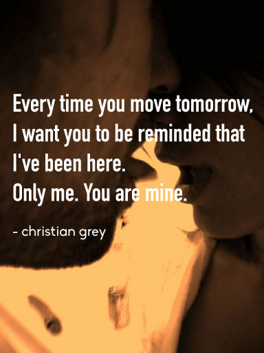 Quotes From 50 Shades Of Grey Amusing Fifty Shades Of Grey Quotes The 25 Steamiest Lines Of The Trilogy
