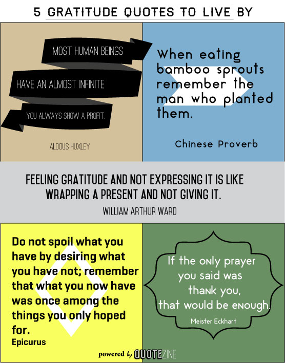 gratitude quotes 15 powerful sayings on being thankful